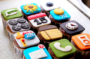 iphone cake l Digital fooding l Agence Social media